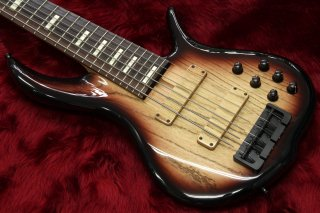 F-Bass BN6 custom brown burst 3.87kg #530416