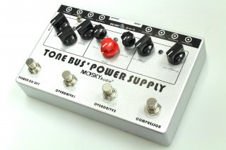 【new】MOSKY AUDIO Multi Effects silvery TONE BUS+POWER SUPPLY