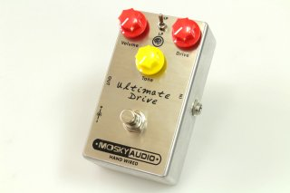 【new】MOSKY AUDIO HANDMADE Pedal silvery ULTIMATE Drive