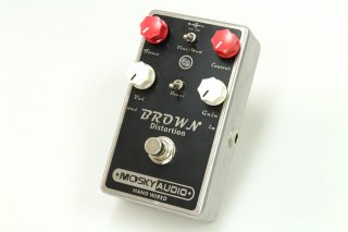 【new】MOSKY AUDIO HANDMADE Pedal black BROWN DISTORTION