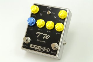 【new】MOSKY AUDIO HANDMADE Pedal black TW 5150 DISTORTION
