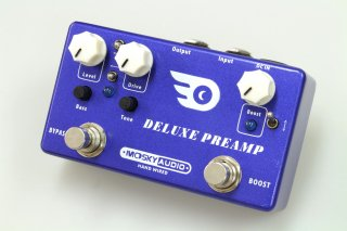 【new】MOSKY AUDIO HANDMADE Pedal blue DX PREAMP