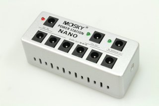 【new】MOSKY AUDIO silvery PEDAL POWER SUPPLY NANO POWER STATION