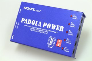 【new】MOSKY AUDIO BLUE PEDAL POWER SUPPLY PADOLA POWER