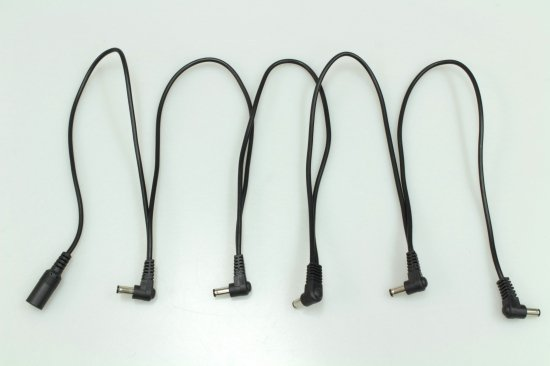 【new】MOSKY AUDIO black Daisy Chain Power Cable MMP-05