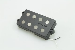 【new】Delano MC 4 AL/V4 parallel wired vintage style dual coil humbucker for Musicman Bass