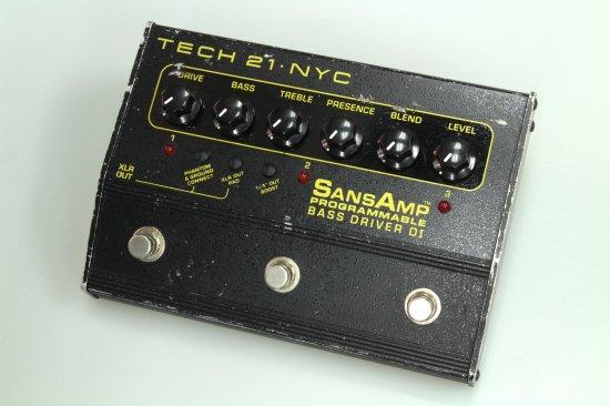 TECH21  SANSAMP Programmable Bass Driver DI