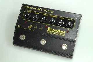 TECH21 SANSAMP Programmable Bass Driver DI