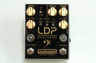 【new】RODENBERG AMPLIFICATION LDP (OD/CB) Overdrive/Clean Boost for bass