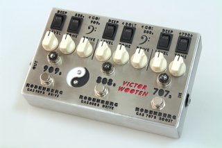【new】Rodenberg GAS-789B VW Victor Wooten Custom NG Clean Boost / Double Overdrive