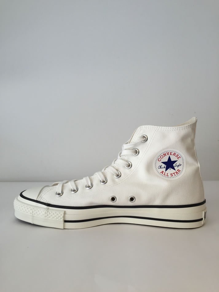 CANVAS ALL STAR J HI White<img class='new_mark_img2' src='//img.shop-pro.jp/img/new/icons47.gif' style='border:none;display:inline;margin:0px;padding:0px;width:auto;' />