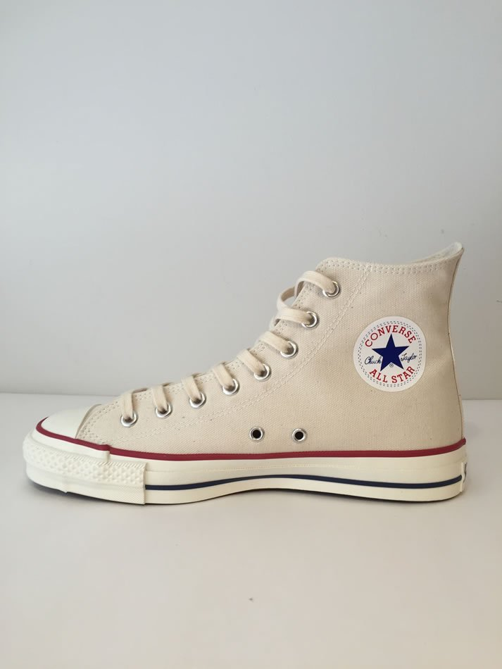 CANVAS ALL STAR J HI Natural White<img class='new_mark_img2' src='//img.shop-pro.jp/img/new/icons47.gif' style='border:none;display:inline;margin:0px;padding:0px;width:auto;' />