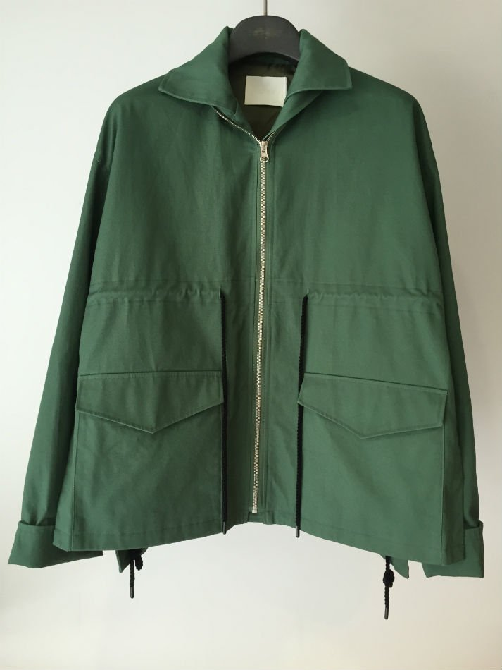 FLARED FIELD JACKET M.GRN<img class='new_mark_img2' src='//img.shop-pro.jp/img/new/icons47.gif' style='border:none;display:inline;margin:0px;padding:0px;width:auto;' />