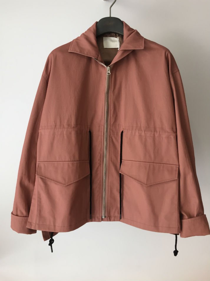 FLARED FIELD JACKET P.BEIGE<img class='new_mark_img2' src='//img.shop-pro.jp/img/new/icons47.gif' style='border:none;display:inline;margin:0px;padding:0px;width:auto;' />