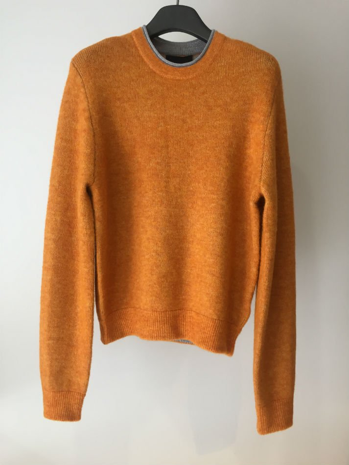 DOUBLE FACED PULLOVER ORANGE<img class='new_mark_img2' src='//img.shop-pro.jp/img/new/icons47.gif' style='border:none;display:inline;margin:0px;padding:0px;width:auto;' />