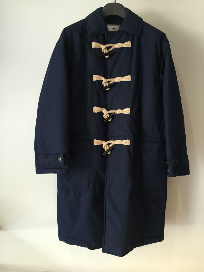 PADDED DUFFLE COAT NAVY<img class='new_mark_img2' src='//img.shop-pro.jp/img/new/icons47.gif' style='border:none;display:inline;margin:0px;padding:0px;width:auto;' />