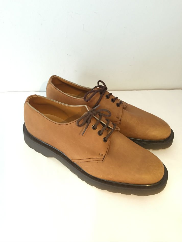 GT Hawkins & Dr Martens Astoronauts 4 Eye Shoes Tan#3<img class='new_mark_img2' src='//img.shop-pro.jp/img/new/icons47.gif' style='border:none;display:inline;margin:0px;padding:0px;width:auto;' />