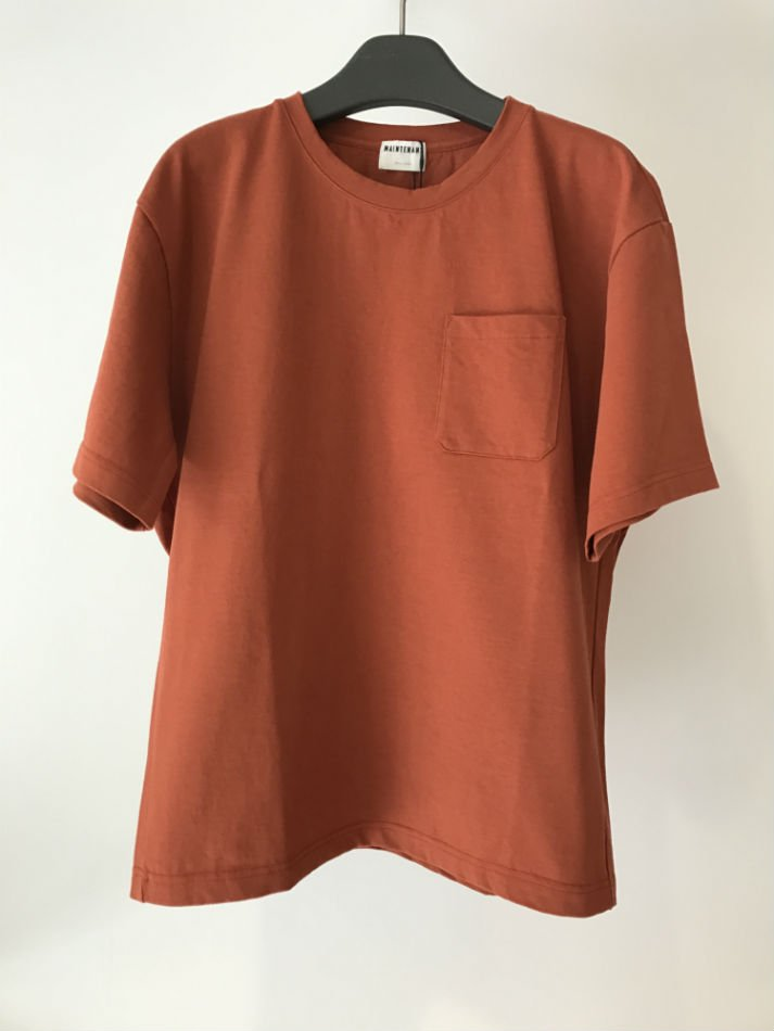 NEW BASIC POCKET T- SHIRT Terracotta<img class='new_mark_img2' src='//img.shop-pro.jp/img/new/icons47.gif' style='border:none;display:inline;margin:0px;padding:0px;width:auto;' />