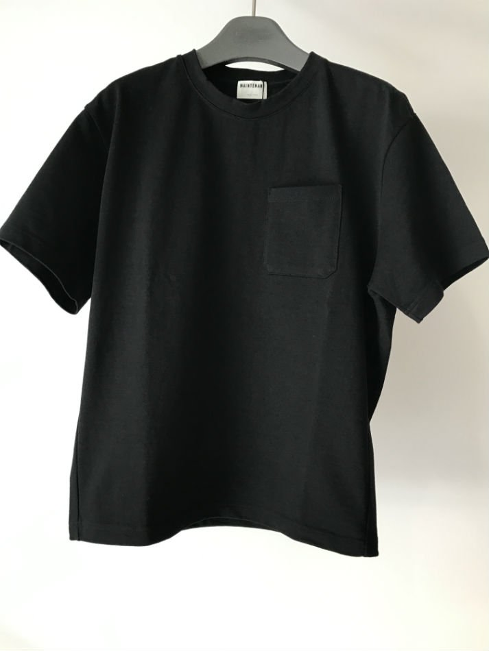 NEW BASIC POCKET T- SHIRT Black<img class='new_mark_img2' src='//img.shop-pro.jp/img/new/icons47.gif' style='border:none;display:inline;margin:0px;padding:0px;width:auto;' />
