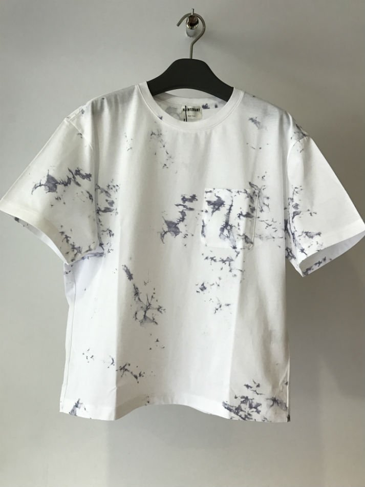 JERSEY STAIN PRINT POCKET T-SHIRT<img class='new_mark_img2' src='//img.shop-pro.jp/img/new/icons47.gif' style='border:none;display:inline;margin:0px;padding:0px;width:auto;' />