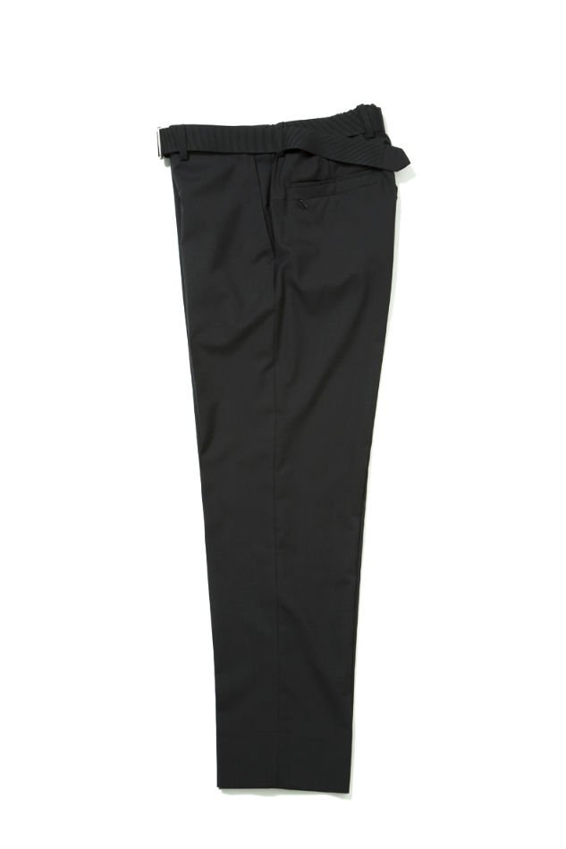 Cordura Combat Wool Trousers wuth Nylon Belt BLACK<img class='new_mark_img2' src='//img.shop-pro.jp/img/new/icons47.gif' style='border:none;display:inline;margin:0px;padding:0px;width:auto;' />
