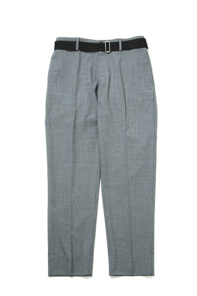 Cordura Combat Wool Trousers wuth Nylon Belt GRAY<img class='new_mark_img2' src='//img.shop-pro.jp/img/new/icons47.gif' style='border:none;display:inline;margin:0px;padding:0px;width:auto;' />