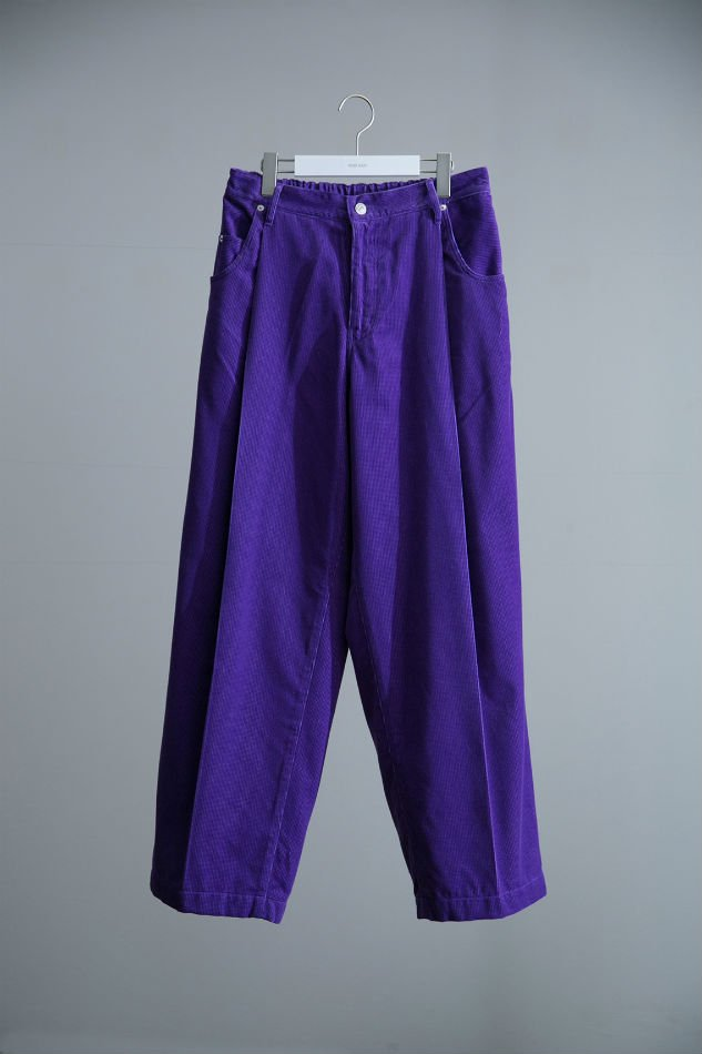HIPSTER WIDE SLACKS PURPLE<img class='new_mark_img2' src='//img.shop-pro.jp/img/new/icons47.gif' style='border:none;display:inline;margin:0px;padding:0px;width:auto;' />