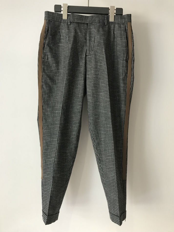 REBEL-PLEAT CHECK TROUSER<img class='new_mark_img2' src='//img.shop-pro.jp/img/new/icons47.gif' style='border:none;display:inline;margin:0px;padding:0px;width:auto;' />