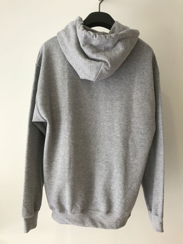 HELLOS EXTRAFINE<br />Logo hooded sweatshirt Gray<img class='new_mark_img2' src='//img.shop-pro.jp/img/new/icons47.gif' style='border:none;display:inline;margin:0px;padding:0px;width:auto;' />