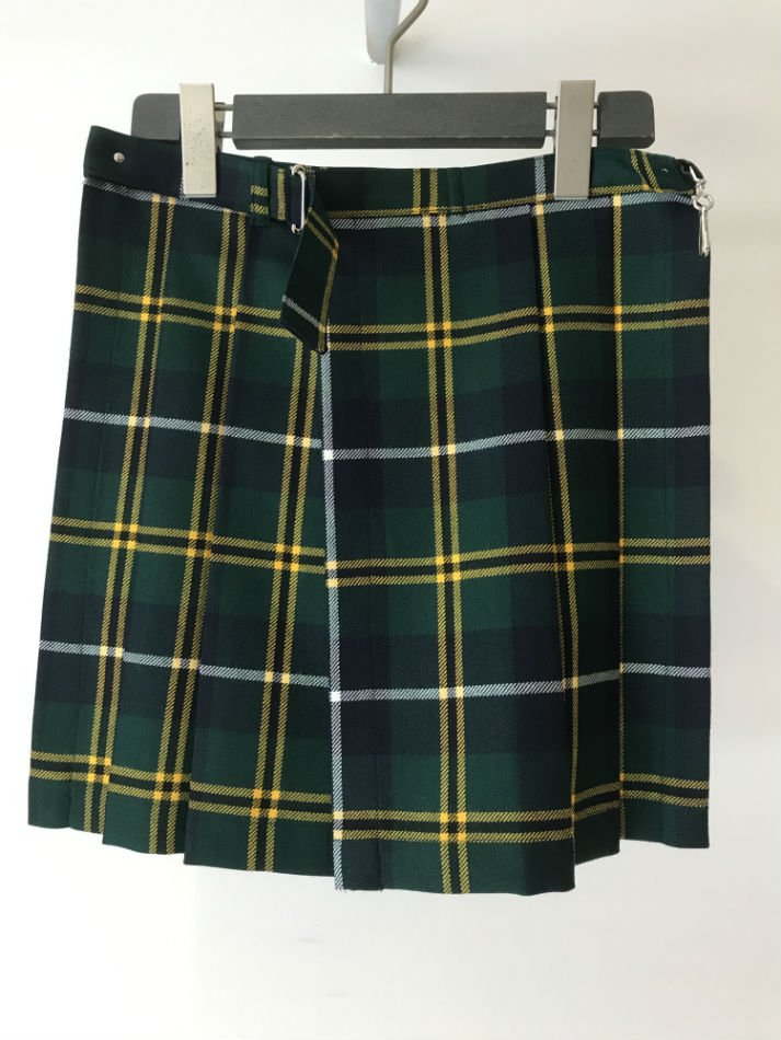 ANTHOLOGIE<br />KILTED SKIRT GREEN CHECK<img class='new_mark_img2' src='//img.shop-pro.jp/img/new/icons47.gif' style='border:none;display:inline;margin:0px;padding:0px;width:auto;' />