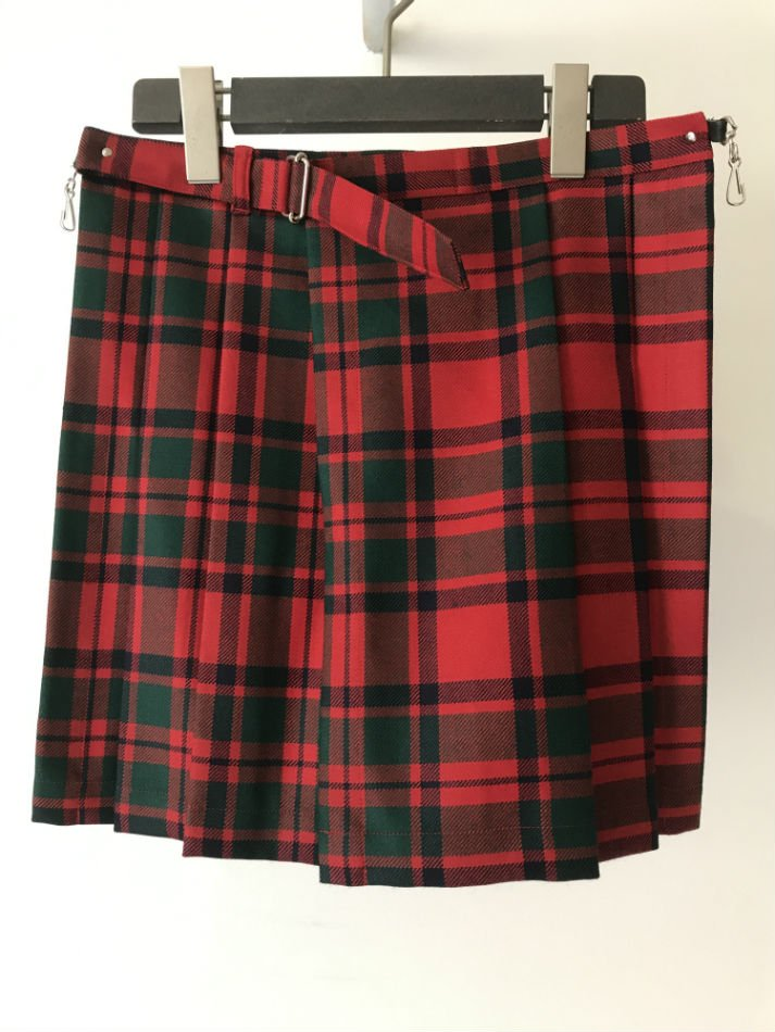 ANTHOLOGIE<br />KILTED SKIRT RED CHECK<img class='new_mark_img2' src='//img.shop-pro.jp/img/new/icons47.gif' style='border:none;display:inline;margin:0px;padding:0px;width:auto;' />