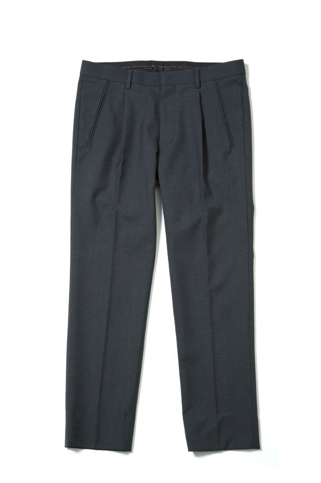 soe<br />School Trouser Narrow Fit GRAY<img class='new_mark_img2' src='//img.shop-pro.jp/img/new/icons14.gif' style='border:none;display:inline;margin:0px;padding:0px;width:auto;' />