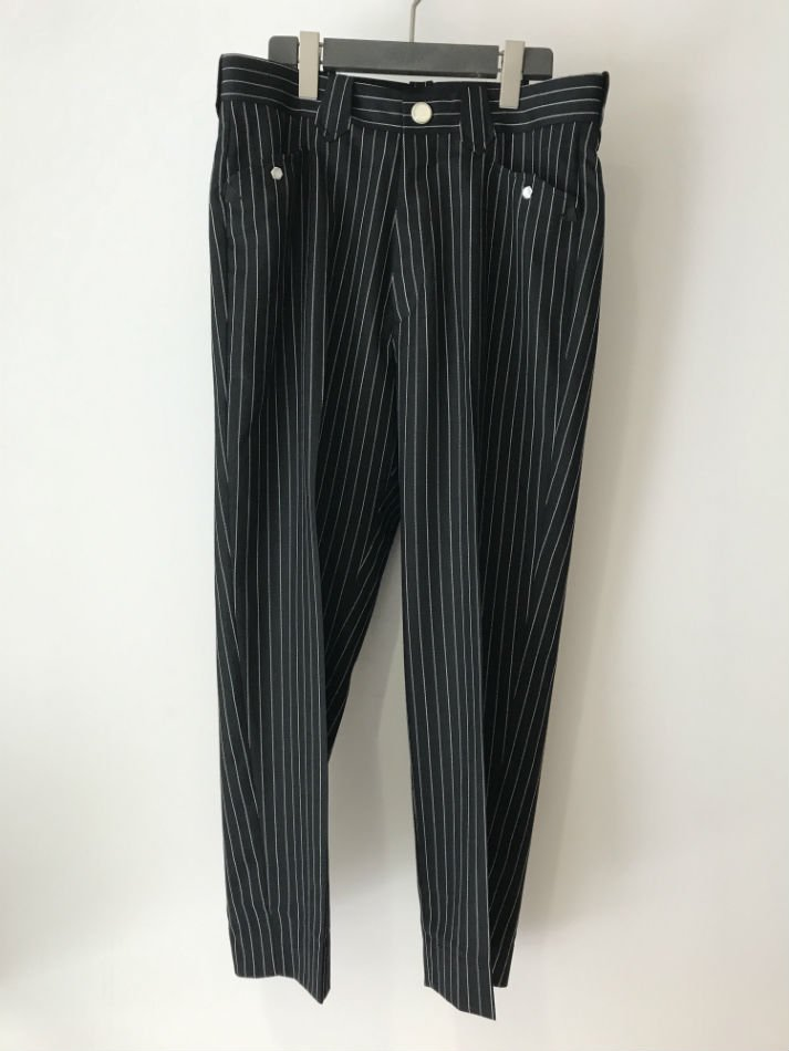 R.M GANG<br />Brow pants choke stripe<img class='new_mark_img2' src='//img.shop-pro.jp/img/new/icons14.gif' style='border:none;display:inline;margin:0px;padding:0px;width:auto;' />