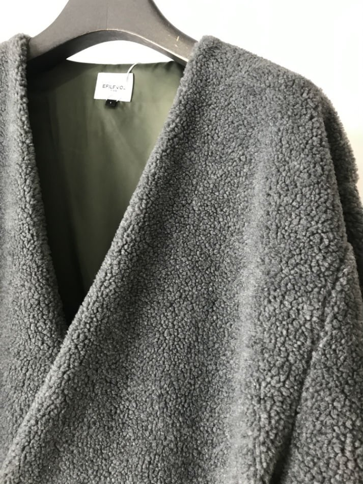 EFILEVOL<br />BA Coat Gray<img class='new_mark_img2' src='//img.shop-pro.jp/img/new/icons14.gif' style='border:none;display:inline;margin:0px;padding:0px;width:auto;' />