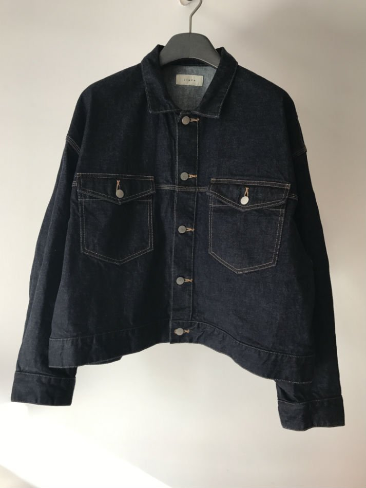 JieDa<br />SHORT DENIM JACKET INDIGO<img class='new_mark_img2' src='//img.shop-pro.jp/img/new/icons47.gif' style='border:none;display:inline;margin:0px;padding:0px;width:auto;' />