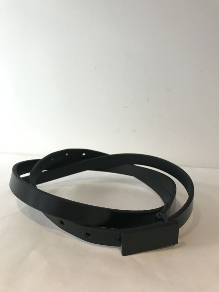 JieDa<br />LEATHER BELT BLACK<img class='new_mark_img2' src='//img.shop-pro.jp/img/new/icons14.gif' style='border:none;display:inline;margin:0px;padding:0px;width:auto;' />