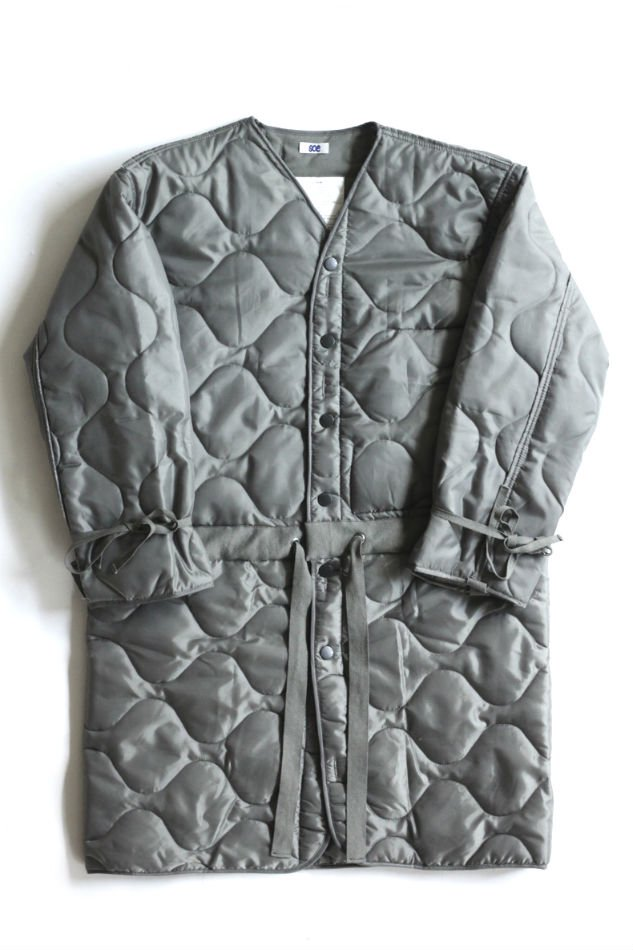 soe<br />CONNECTED LINER COAT OLIVE<img class='new_mark_img2' src='//img.shop-pro.jp/img/new/icons14.gif' style='border:none;display:inline;margin:0px;padding:0px;width:auto;' />