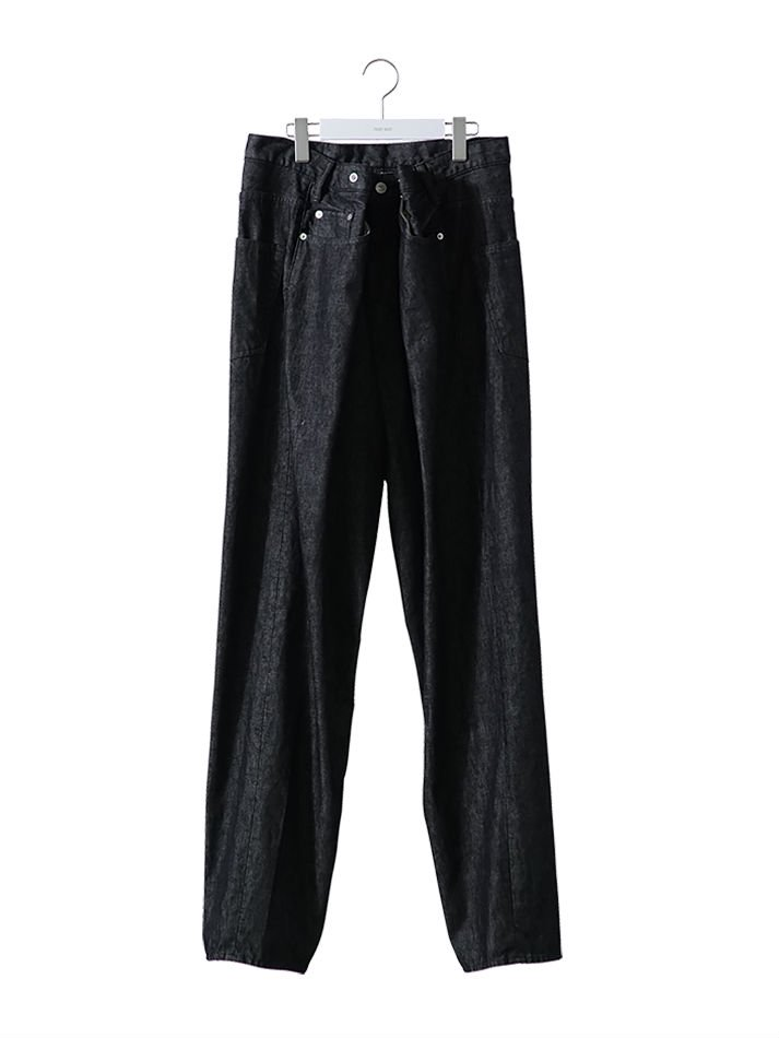 NEON SIGN<br />CHICANO DENIM SLACKS WASH BLACK<img class='new_mark_img2' src='//img.shop-pro.jp/img/new/icons47.gif' style='border:none;display:inline;margin:0px;padding:0px;width:auto;' />