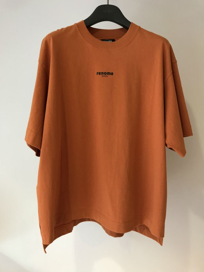 JieDa×renoma<br />PHOTO T-SHIRT 01 ORANGE <img class='new_mark_img2' src='//img.shop-pro.jp/img/new/icons14.gif' style='border:none;display:inline;margin:0px;padding:0px;width:auto;' />