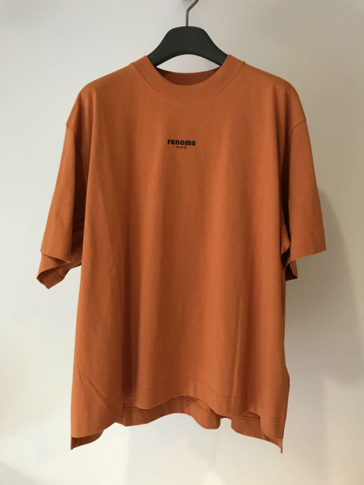 JieDa×renoma<br />PHOTO T-SHIRT 02 ORANGE <img class='new_mark_img2' src='//img.shop-pro.jp/img/new/icons14.gif' style='border:none;display:inline;margin:0px;padding:0px;width:auto;' />