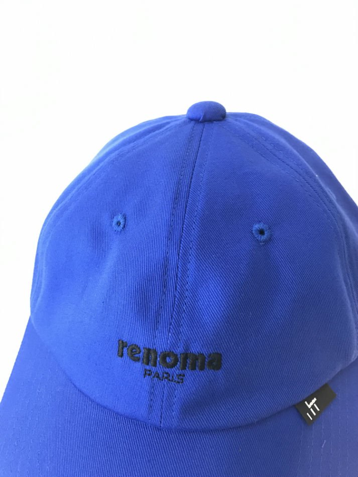 JieDa×renoma<br />CAP BLUE<img class='new_mark_img2' src='//img.shop-pro.jp/img/new/icons47.gif' style='border:none;display:inline;margin:0px;padding:0px;width:auto;' />