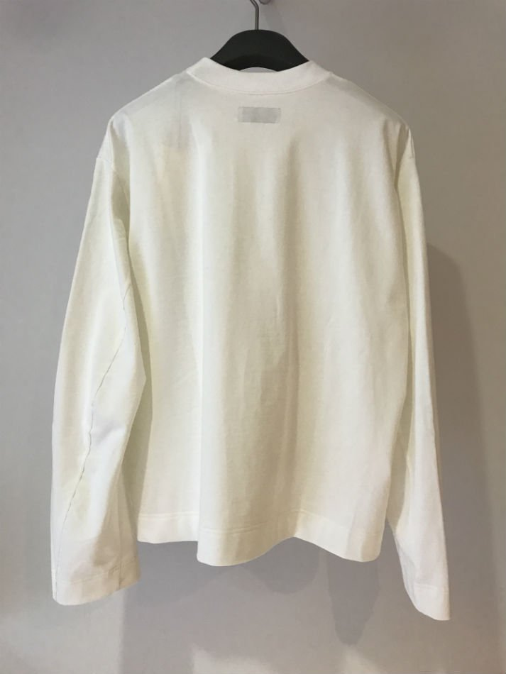 JieDa<br />LAMINATE POCKET L/S T-SHIRT WHITE<img class='new_mark_img2' src='//img.shop-pro.jp/img/new/icons47.gif' style='border:none;display:inline;margin:0px;padding:0px;width:auto;' />