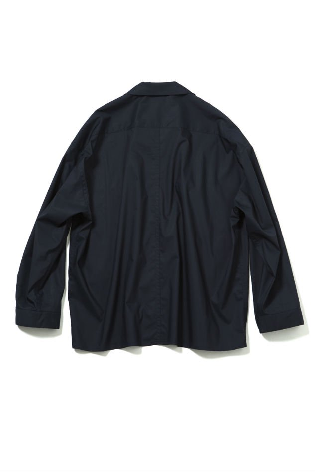 soe<br />L/S Fringe Shirt NAVY<img class='new_mark_img2' src='//img.shop-pro.jp/img/new/icons47.gif' style='border:none;display:inline;margin:0px;padding:0px;width:auto;' />