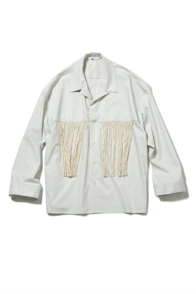 soe<br />L/S Fringe Shirt OFF WHITE<img class='new_mark_img2' src='//img.shop-pro.jp/img/new/icons14.gif' style='border:none;display:inline;margin:0px;padding:0px;width:auto;' />