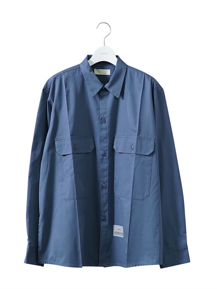 NEON SIGN<br />WORKER SHIRT L/S BLU <img class='new_mark_img2' src='//img.shop-pro.jp/img/new/icons47.gif' style='border:none;display:inline;margin:0px;padding:0px;width:auto;' />