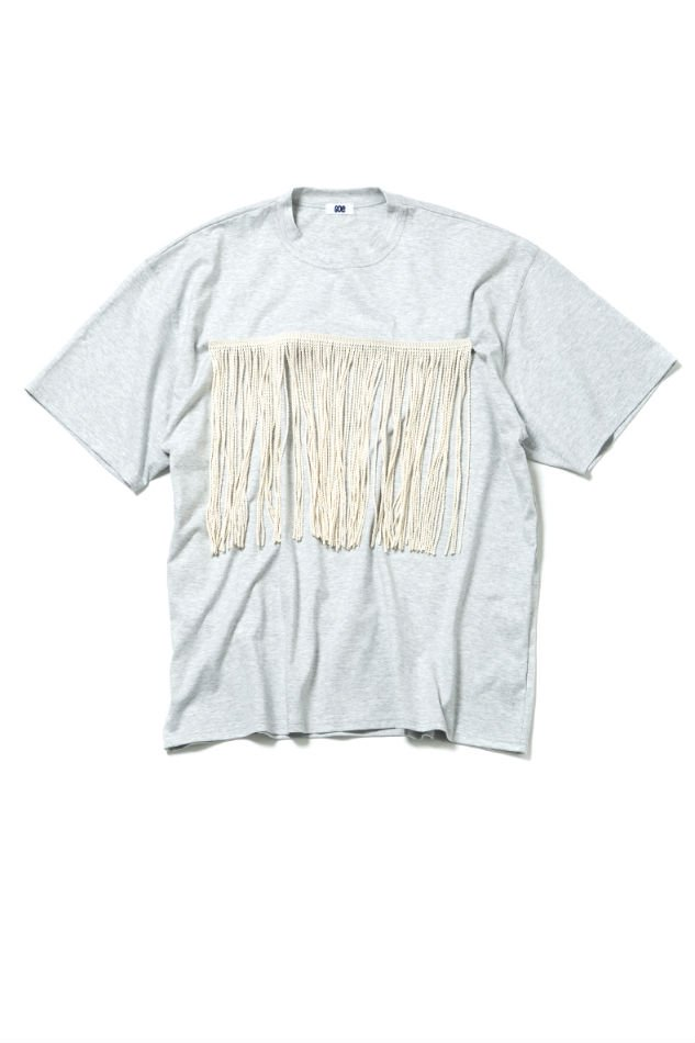 soe<br />H/S Fringe T Shirt GRAY<img class='new_mark_img2' src='//img.shop-pro.jp/img/new/icons47.gif' style='border:none;display:inline;margin:0px;padding:0px;width:auto;' />