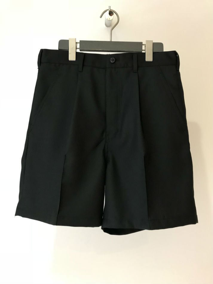ANTHOLOGIE<br />CENTER PLEATED SHORTS BLACK<img class='new_mark_img2' src='//img.shop-pro.jp/img/new/icons47.gif' style='border:none;display:inline;margin:0px;padding:0px;width:auto;' />