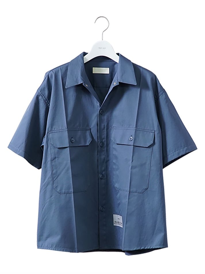 NEON SIGN<br />WORKERS SHIRT L/S BLU<img class='new_mark_img2' src='//img.shop-pro.jp/img/new/icons14.gif' style='border:none;display:inline;margin:0px;padding:0px;width:auto;' />