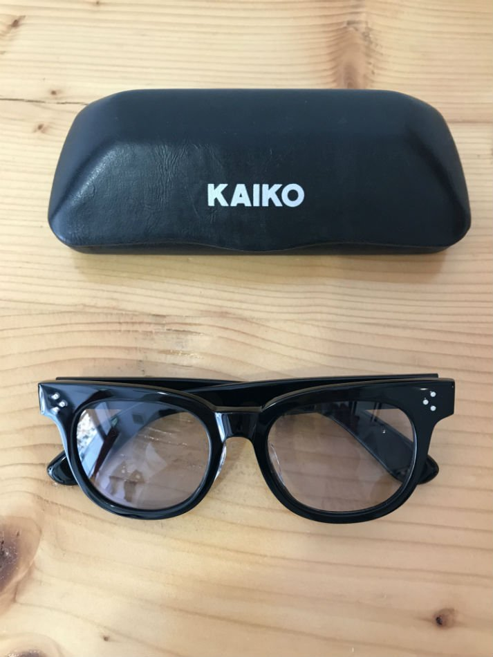 KAIKO<br />SUN GLASS 3 BLACK/GRAY<img class='new_mark_img2' src='//img.shop-pro.jp/img/new/icons14.gif' style='border:none;display:inline;margin:0px;padding:0px;width:auto;' />