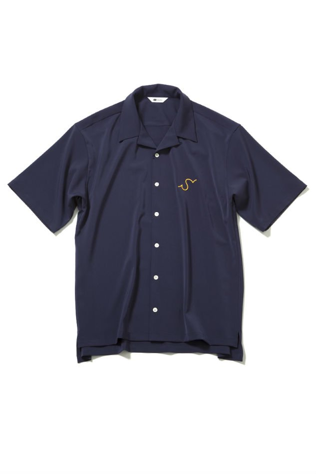 soe<br />H/S Open Collar Shirt S NAVY<img class='new_mark_img2' src='//img.shop-pro.jp/img/new/icons14.gif' style='border:none;display:inline;margin:0px;padding:0px;width:auto;' />